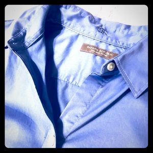 Light Blue - Fitted Button Down -Non Iron